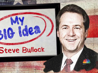 Steve Bullock shares his 'big idea' for keeping dark money out of elections