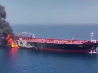 U.S. says 'Iran is responsible' for attacks on oil tankers