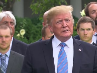 Trump defends 'beautiful' tariffs and hints there's more to Mexico deal