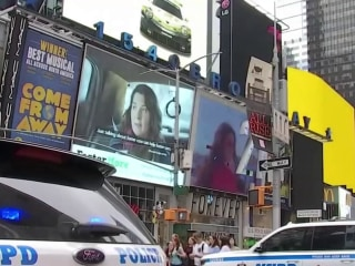 Man who discussed terror plot in Times Square arrested