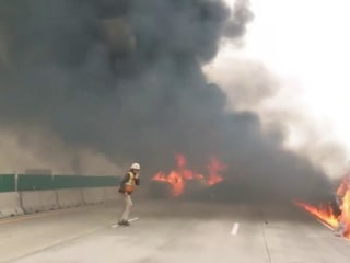 Deadly inferno on Wisconsin highway after semi truck collision