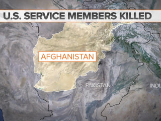 2 U.S. service members killed in Afghanistan, military says