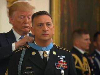 Trump awards Medal of Honor to Iraq War veteran