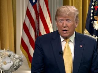 President Trump discusses 2020 adversaries in Telemundo interview