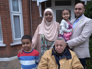 2 years after the Grenfell Tower fire, a family tries to move forward