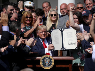 Trump signs 9/11 victims fund bill: 'We will keep our nation's promise'
