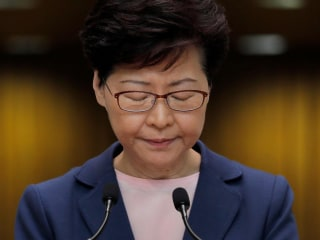 Hong Kong extradition bill 'dead,' chief executive says