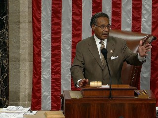 Rep. Cleaver: 'I abandon the chair' over partisan rules debate