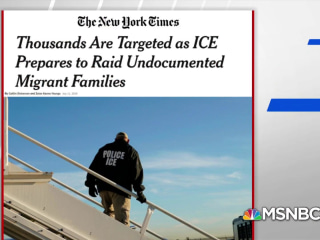 NYT: Thousands targeted as ICE prepares raids