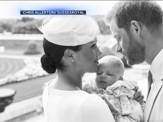 Prince Harry and Meghan Markle keep son Archie's christening private