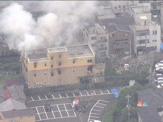 More than 30 feared dead in suspected arson at Japan animation studio