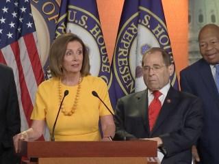 Democratic leadership responds to Mueller testimony