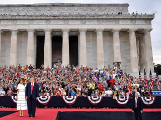 Watch Trump's full July 4th 'Salute to America' military event