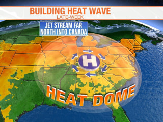 Dangerous heat wave rolls across Midwest, East Coast