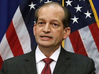 Labor Secretary Acosta resigns amid Epstein plea deal criticism