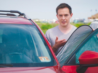 Keep your parked car cool with these clever hacks