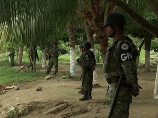 Exclusive look as Mexico deploys troops to Guatemala border to slow migration to U.S.