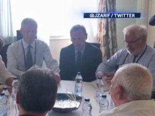 Iran's Zarif surprises White House at G-7 Summit