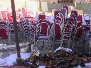 More than 60 killed in blast at wedding in Afghanistan
