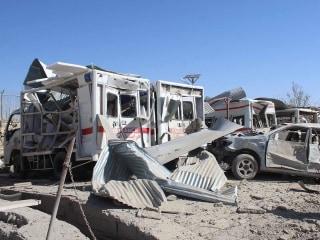 Taliban car bomb kills at least 20 in southern Afghanistan