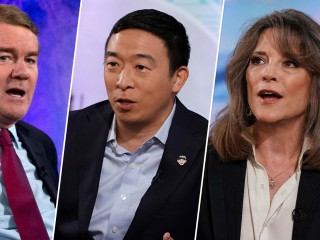 Watch: Presidential candidates pitch their plans to fight climate change