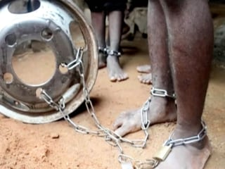 Allegations of torture as hundreds freed from reported 'school' in Nigeria