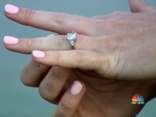 California woman dreamed she ate her engagement ring, woke up to find that she really did