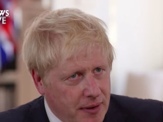 U.K. Prime Minister Boris Johnson calls for new nuclear deal with Iran