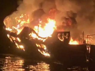 Survivor of California dive boat fire suing boat's owner and operator