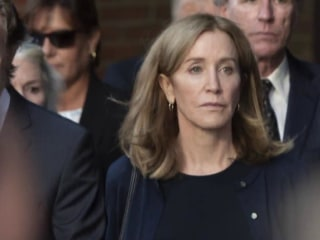 Felicity Huffman sentenced to 14 days in college cheating scandal