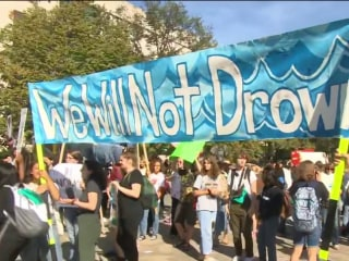 Watch: Climate change marches across the globe