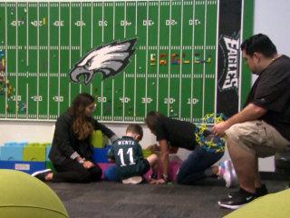 Philadelphia Eagles create sensory room for fans with autism