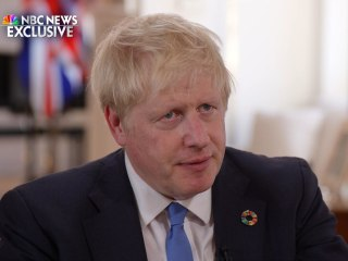 Boris Johnson's full exclusive interview with Lester Holt