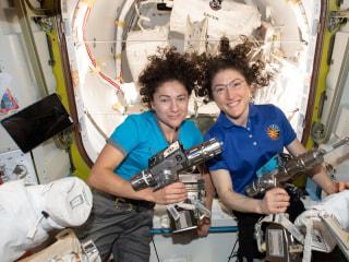 Watch NASA astronauts make history in first all-female spacewalk