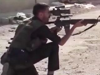 Fierce fighting in Syrian border town as Kurdish militants strike back