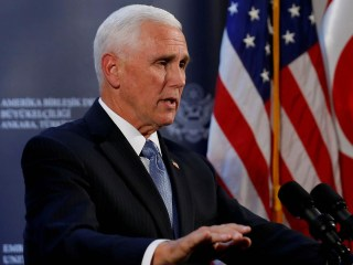 Pence touts cease-fire plan to save Kurds from Turkish assault