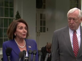 Democrats walk out of tense White House meeting after Trump 'meltdown'