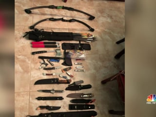 Woman arrested after parents discover bomb materials in her bedroom