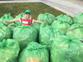 Meet the inspiring 10-year-old devoted to recycling
