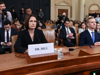 Highlights: Fiona Hill and David Holmes' impeachment hearing testimony