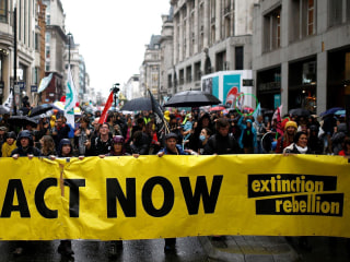Why Extinction Rebellion climate change activists use 'radical disruptive action' to save the world