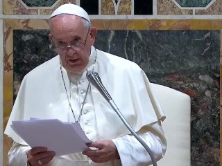 Pope condemns culture of hate reminiscent of Hitler