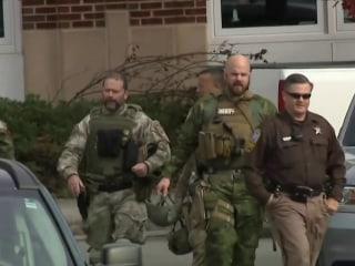 Urgent manhunt for missing Marine accused of murder in Virginia