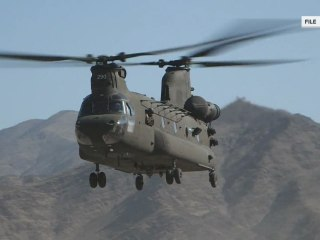 2 US service members killed in helicopter crash in Afghanistan