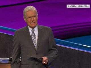 Watch Alex Trebek choke up over contestant's sweet message