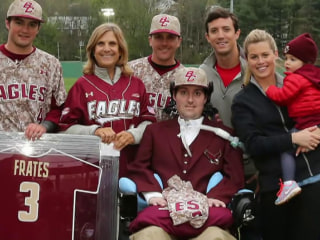 Pete Frates, inspiration for ALS Ice Bucket Challenge, dies at 34