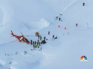Six people rescued after avalanche comes crashing down at Swiss ski resort