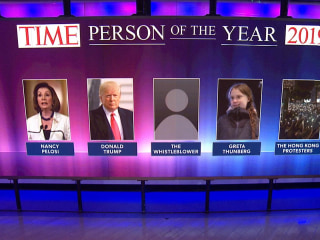 Final 5 candidates for TIME Person of the Year revealed on TODAY
