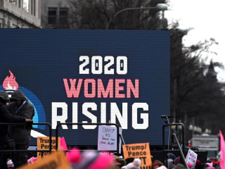 Protesters gather for fourth annual Women's March across the country