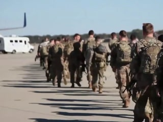 Up to 3,500 American soldiers to join troops in the Mideast